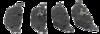 Pastilha de Freio BMW Série 3 / Série 5 / Série 7 / X3 / Z3  Traseira. PW535