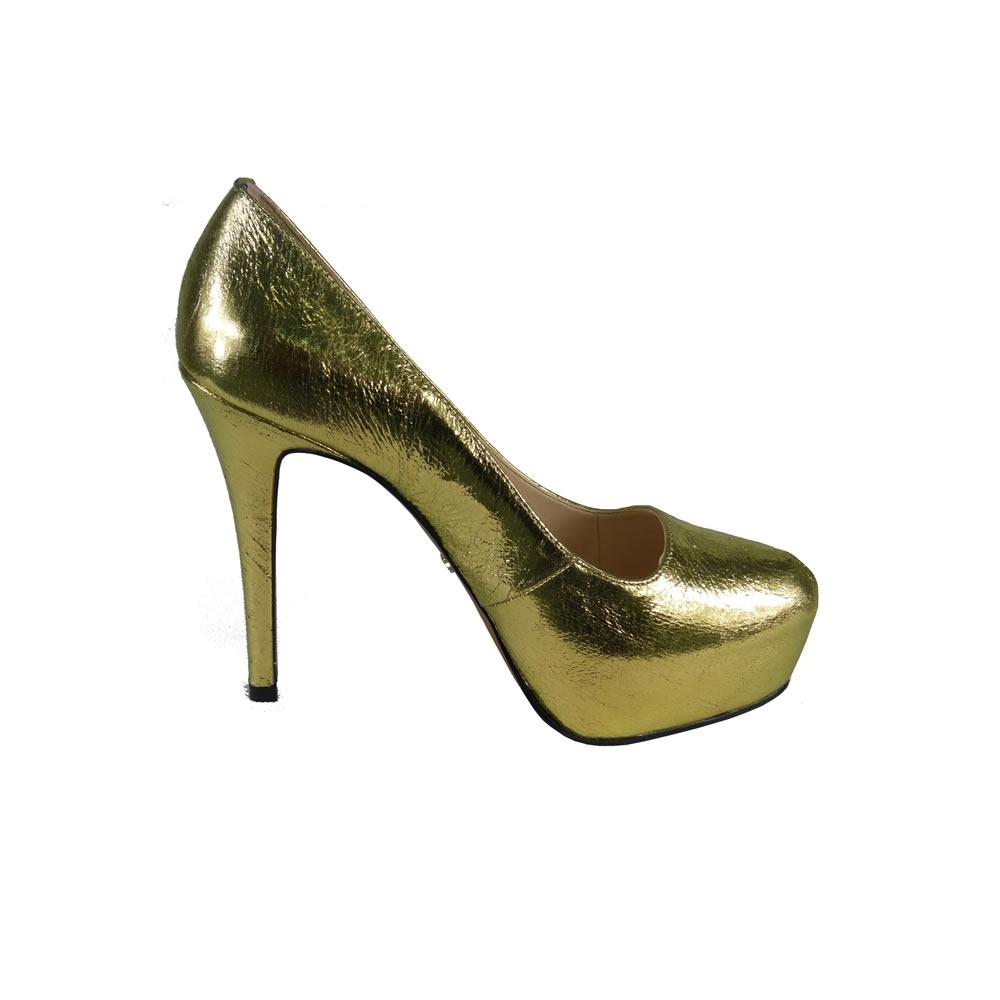 Scarpim Dourado Werner - 161002 - TAMANHO 39