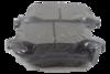 PASTILHA DE FREIO de Cerâmica JURID - FIAT Freemont - DODGE Journey - CHRYSLER Gran Caravan / Town e Country - Traseira - HQJ4014A