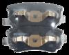 Pastilha de Freio ORIGINALLPARTS - MITSUBISHI Airtrek / Lancer / Outlander - Traseira - OSTA2113
