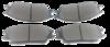 Pastilha de Freio ORIGINALLPARTS - HYUNDAI Accent / Excell - JAC J3 - Dianteira - OSDA1311
