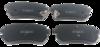 Pastilha de Freio ORIGINALLPARTS - HYUNDAI I30 / IX35 / KIA Sportage - Traseira - OSTA1303