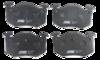 Pastilha de Freio JURID - Eixo Traseiro - RENAULT Clio / Megane / R5 / PEUGEOT 106 / 206 / 306 / 309 / CITROËN Aura / XSara / Saxo /ZX - HQJ2176