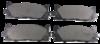 Pastilha de Freio JURID - LEXUS ES350 / TOYOTA Camry - Dianteiro - HQJ2276