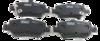 Pastilha de Freio FRAS-LE - Eixo Traseiro - Toyota Corolla XEI, Altis, SE-G, GLI, XLI - PD/689