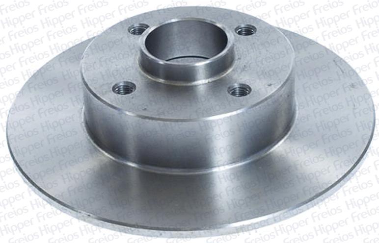 Disco de Freio Hipper Freios (HF) - Eixo Traseiro - Clio / Megane (Sólido e Com Cubo) - HF823