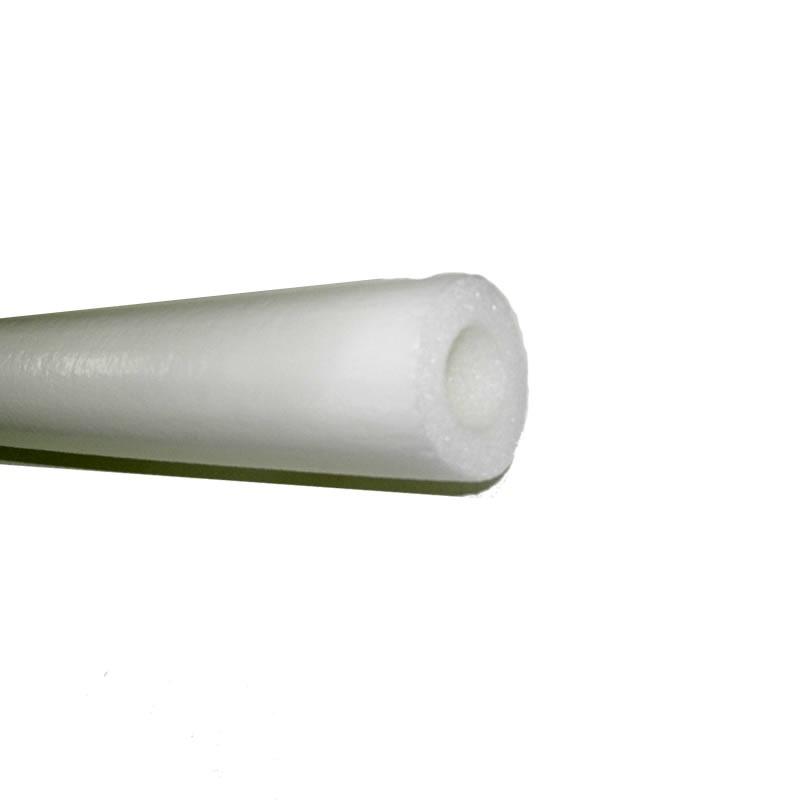 Tubo Isolante Polipex 3/4 Polegada 10MM 2 Metros Plus Branco X12034