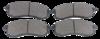 Pastilha de Freio Willtec - MITSUBISHI L200 - Dianteiro - PW387P