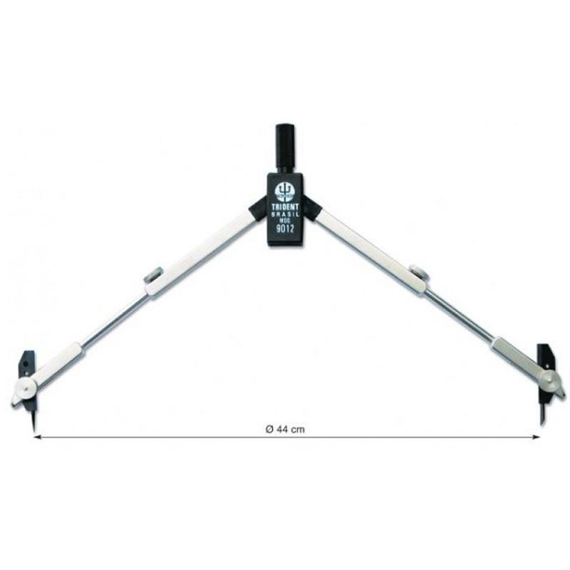 Compasso Técnico Metal Trident - Unitário - 9012