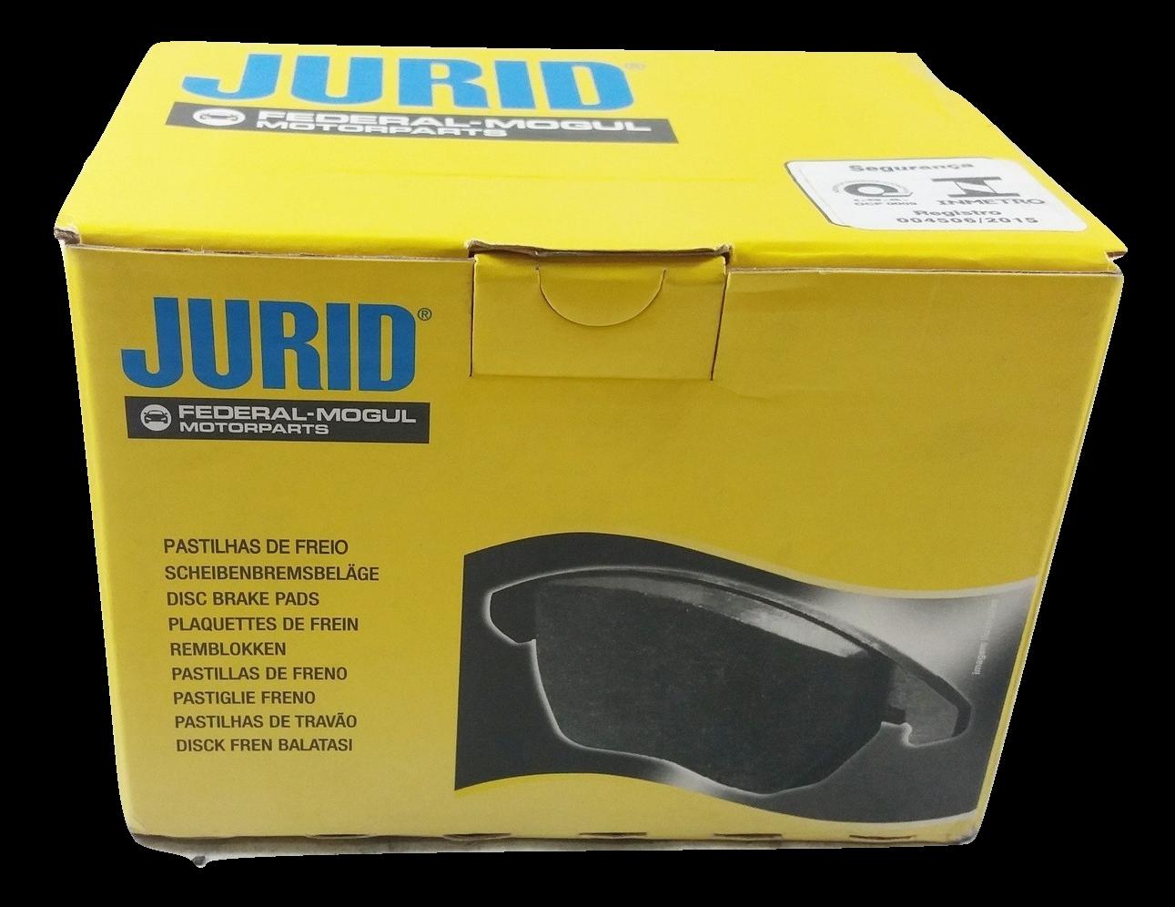 Pastilha de Freio JURID - MITSUBISHI ASX / Pajero Full - Traseiro - HQJ2221