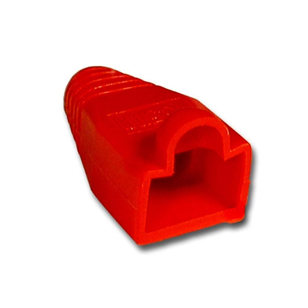 Capa para Conector RJ45 Macho Speedlan Vermelho