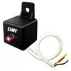 Lâmpada Piloto Led Sinalizador de Central de Alarme 12 Volts - Vermelho - DNI - 5003