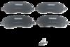 Pastilha de Cerâmica - DODGE Stratus - JEEP Compass - MITSUBISHI ASX / Eclipse / Galant / Lancer / Outlander - Dianteira - HQF4042A