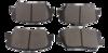 PASTILHA DE FREIO de Cerâmica - KIA Sorento - HYUNDAI Santa Fé / Elantra / Veloster - Dianteira - HQF4029A