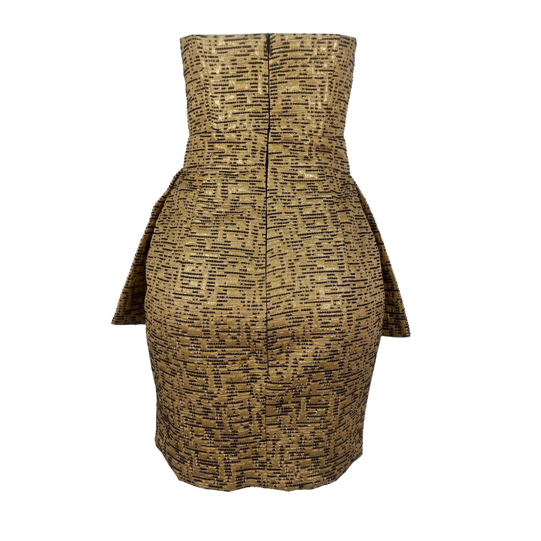 Vestido Tomara que Caia Ouro Anamac