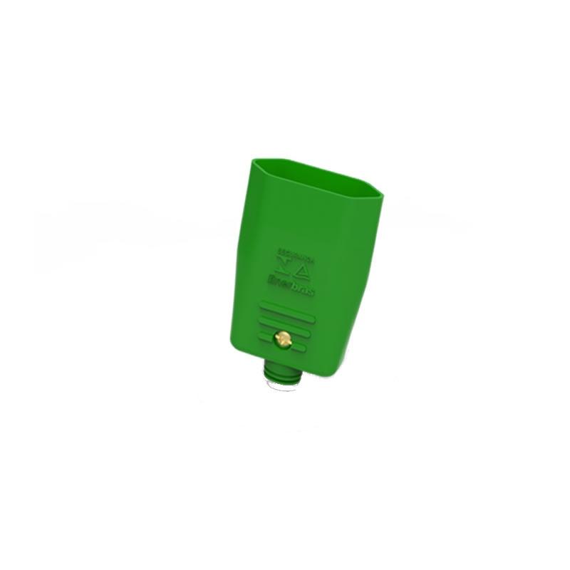 Plug Fêmea Enerbras 2 Pinos Redondo 10 Amperes Unitário - Verde 049-EVD