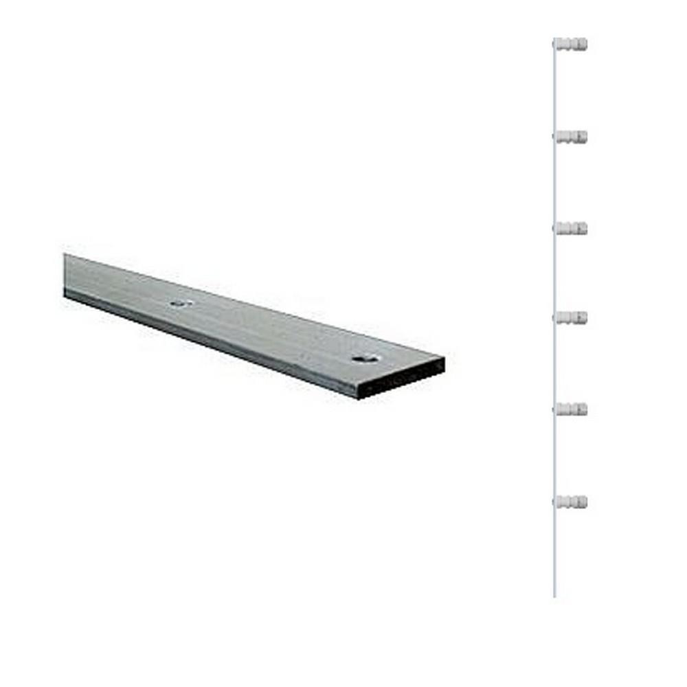 Haste Barra Chato 100cm com 6 Isoladores 4mm x 13/16 polegadas - Gie - F00045