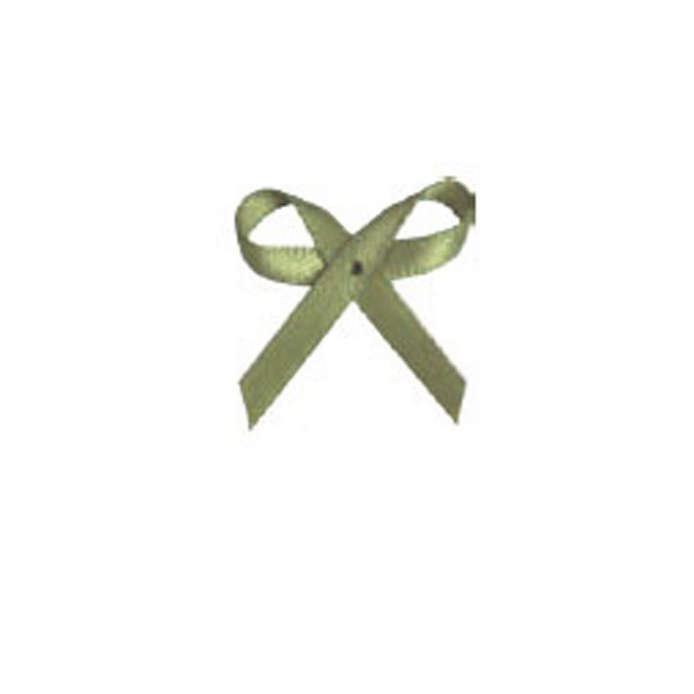 Aplicação Laço Verde Pistache Cetim N°0 Pacote/50 Unidades - 360695