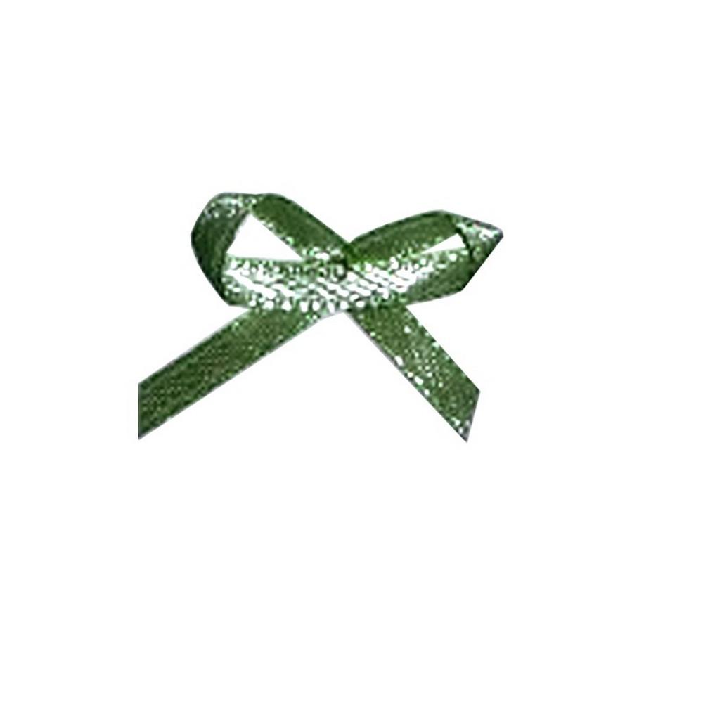 Aplicação Laço Verde Agua Cetim N°0 Pacote/50 UNI- 532366