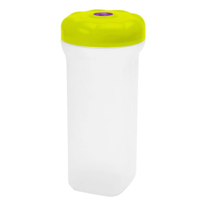Pote de Plástico Redondo Roscado para Biscoitos e Bolhachas com 1,38 litros - Sanremo 448