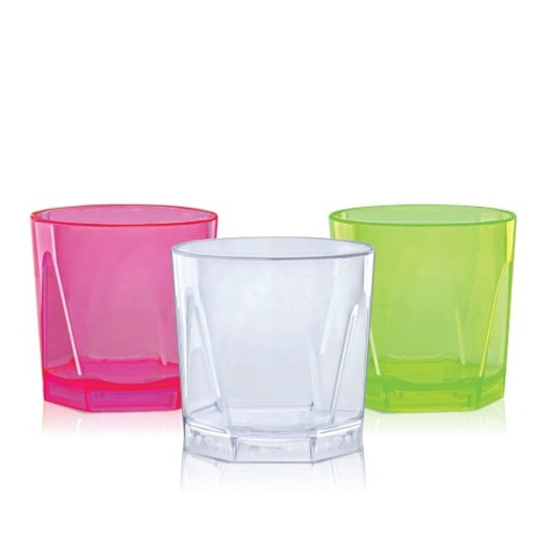 Copo Plástico para Whisky Sortidos Arqplast - CTW2