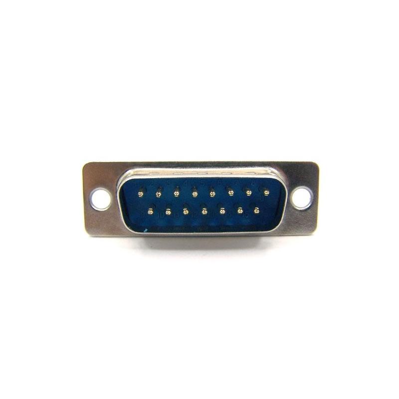 Conector DB-15 Serial Macho Soldar ChipSce - 025-1500