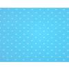 Eva Bolinhas 40x60 Centímetro 2mm RDJ Pacote com 5 unidades Azul Claro e Branco - 803