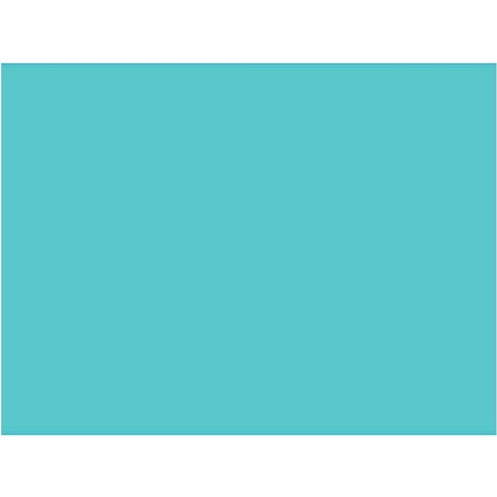Papel Camurça RST 40x60CM Pacote com 25 Unidades - Azul Turqueza - 200470424