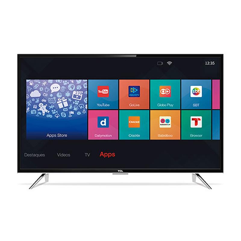 Televisor Smart TCL L39S4900FS Tela 39 LED Full HD Digital Wi-Fi 3 HDMI 2 USB