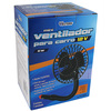 Ventilador Portátil para Automóveis Western 13,6CM 12 Volts6 Watts Preto - V-2325