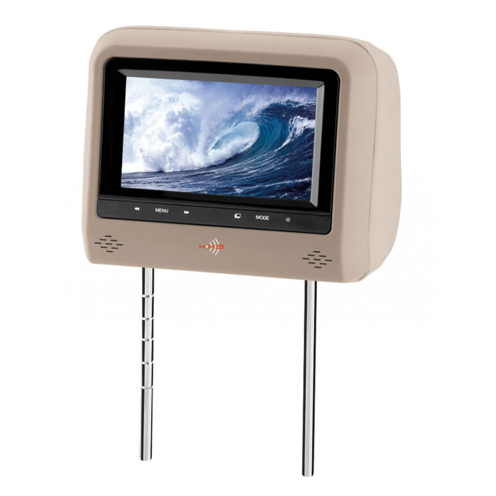 Encosto de Cabeça para Banco de Automóvel com Tela Touch 7 Polegadas - KX3 - 710ZB