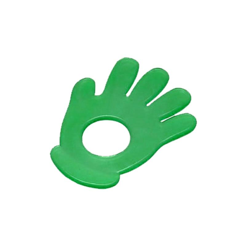 Mordedor em PVC para Bebê Modelo Mão Cefisa - 3.604.1 - 3.604.1 - VERDE-MT-01