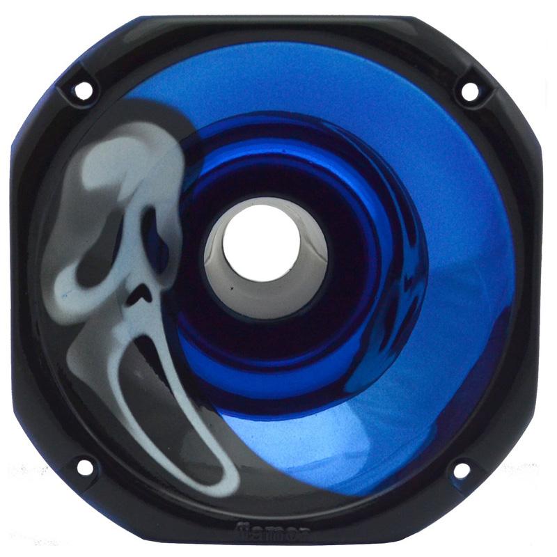 Corneta Plástico LC 14-50 Pânico Azul Metalizada Fiamon - 2027 - 2027