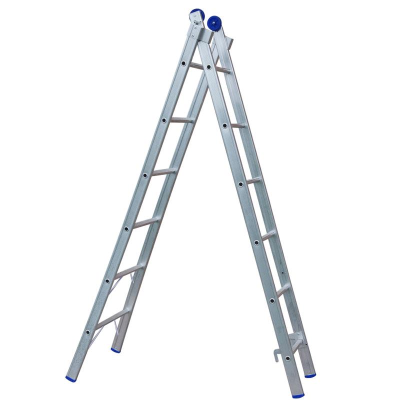 Escada de Alumínio 12 Degraus Extensiva Mor - 5161