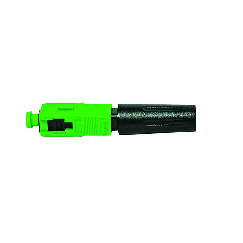 Conector Fast-SM-SC/APC Fibra Óptica Mecânica Easy4Link - FAST-SM-SC/APC