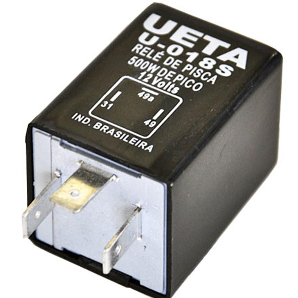 Relé de Pisca 12 Volts 500W 3 Terminais U018S