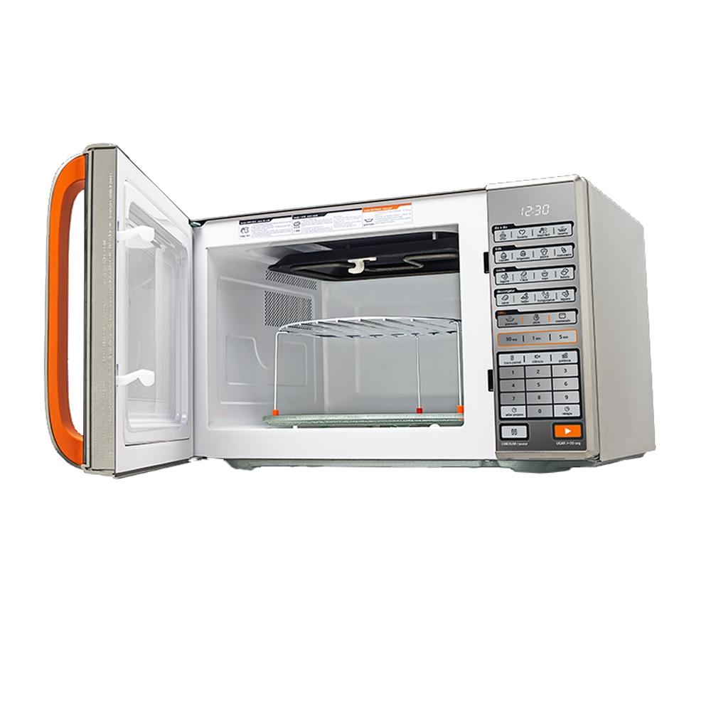 Micro-ondas Midea 30 Litros Função Grill Prata Espelhado 127V - MTAEG41