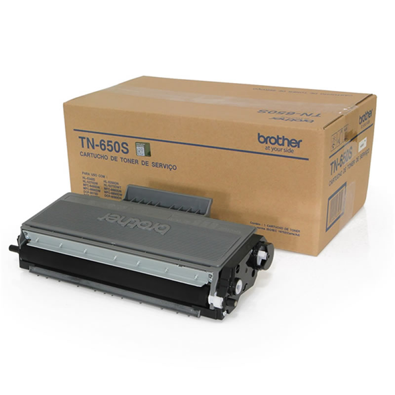 Toner Brother Preto Original - TN-650SBR