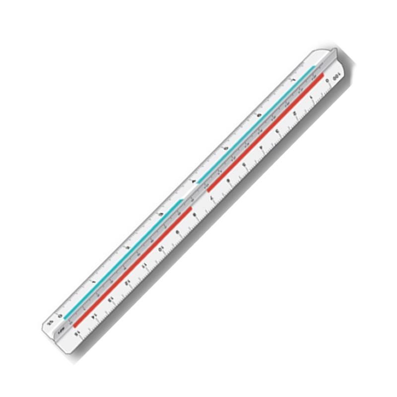 Escalímetro 30 Centímetros Unitário - Trident - 7830/1