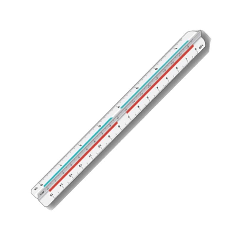 Escalímetro Mini 15 Centímetros Unitário - Trident - ME-15