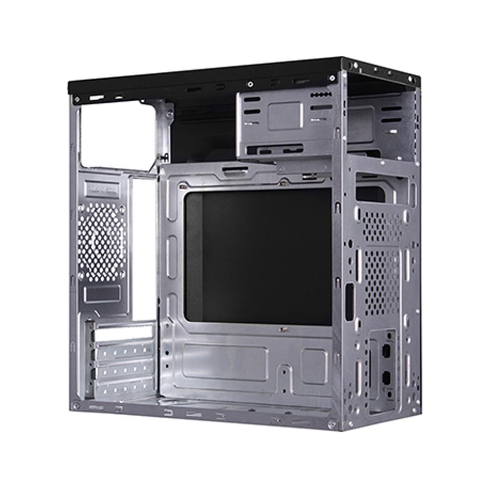 Gabinete C3Tech MT-21BK 2 Baias Preto com Fonte