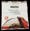 Pastilha de Freio Willtec - BMW Série 1 / Série 3 - Traseira - PW196