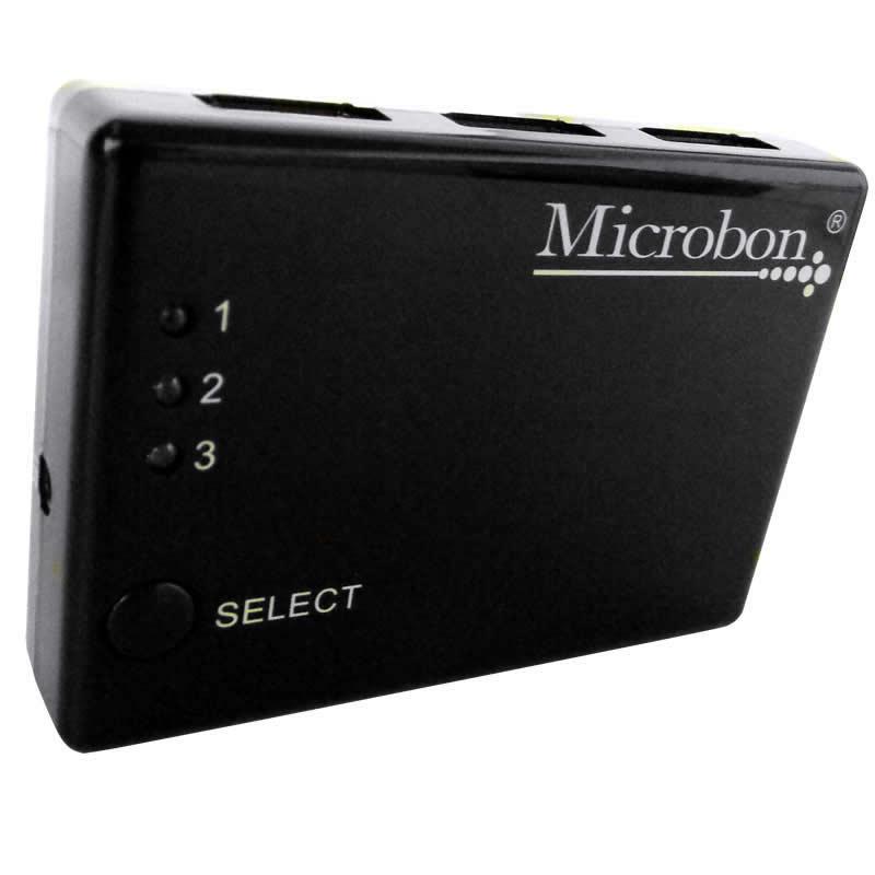 Switch 3 Entradas HDMI para 1 Saída HDMI Microbon - MA103 - Resolução de 1080P - MA103