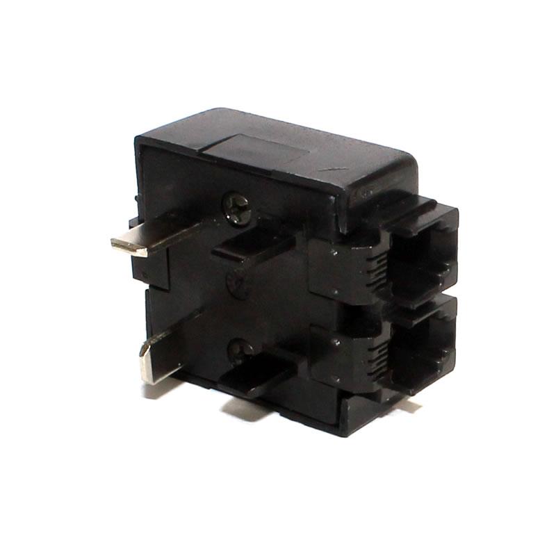Pino para Telefone ChipSce 2 RJ11 Preto