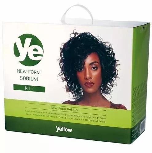 Kit Grande YE New Form Relaxer Sodium Hydroxine