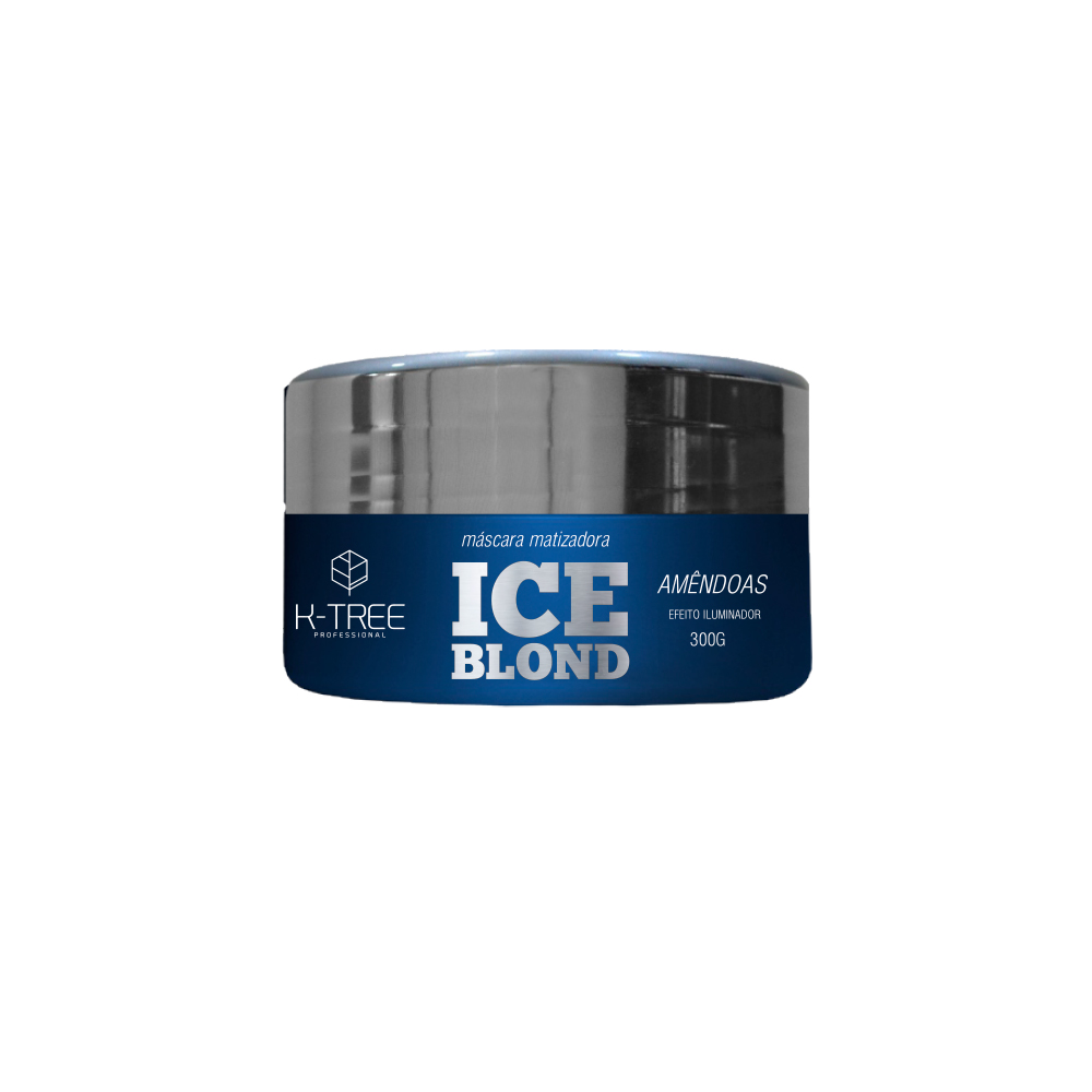 K-Tree Máscara Matizadora Ice Blond Amêndoas 300g