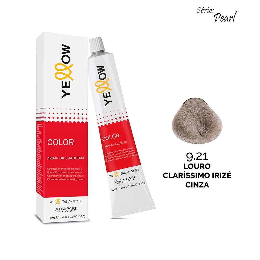 Yellow Color Pearl - 9.21 LOURO CLARÍSSIMO IRIZÉ CINZA