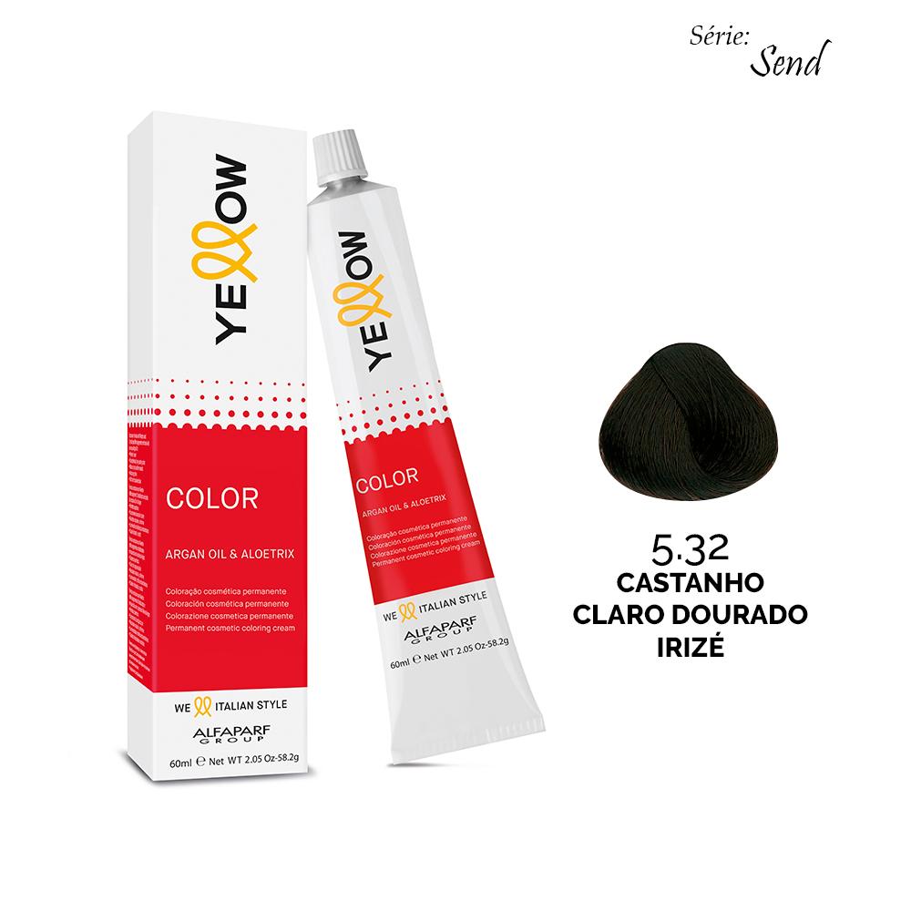 5.32 CASTANHO CLARO DOURADO IRIZÉ - Yellow Color Sand
