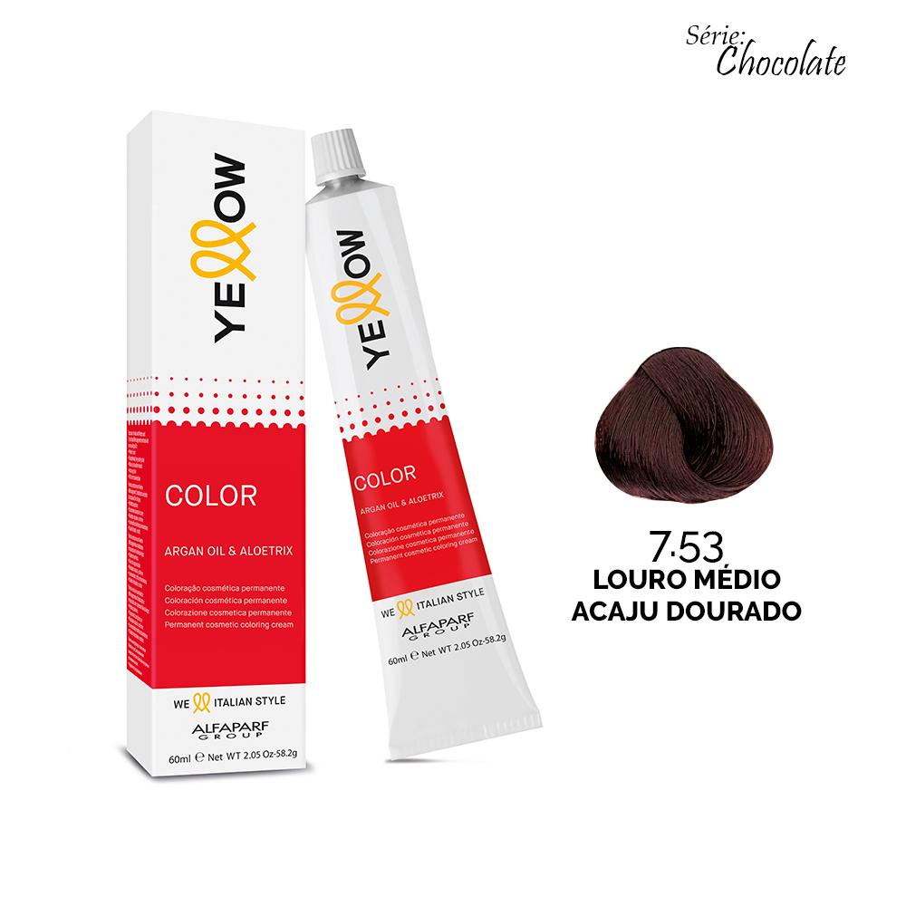 7.53 LOURO MÉDIO ACAJU DOURADO - Yellow Color Chocolate