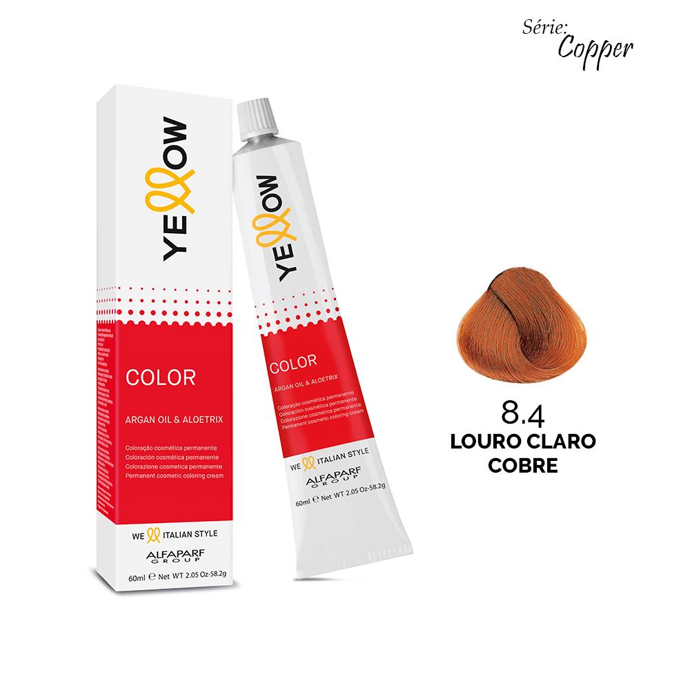 8.4 LOURO CLARO COBRE - Yellow Color Copper